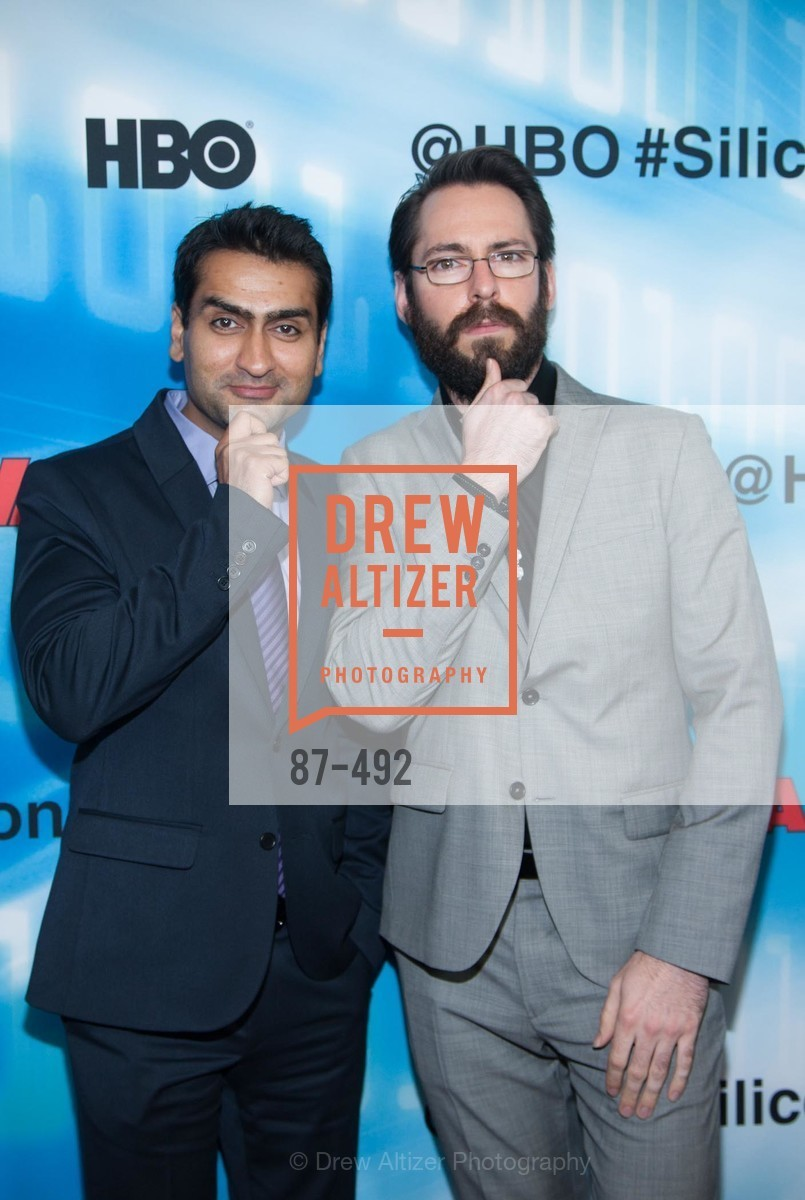 Kumail Nanjiani, Martin Starr, HBO Original Series 'Silicon Valley' Bay Area Premiere, US. US, April 2nd, 2014,Drew Altizer, Drew Altizer Photography, full-service agency, private events, San Francisco photographer, photographer california