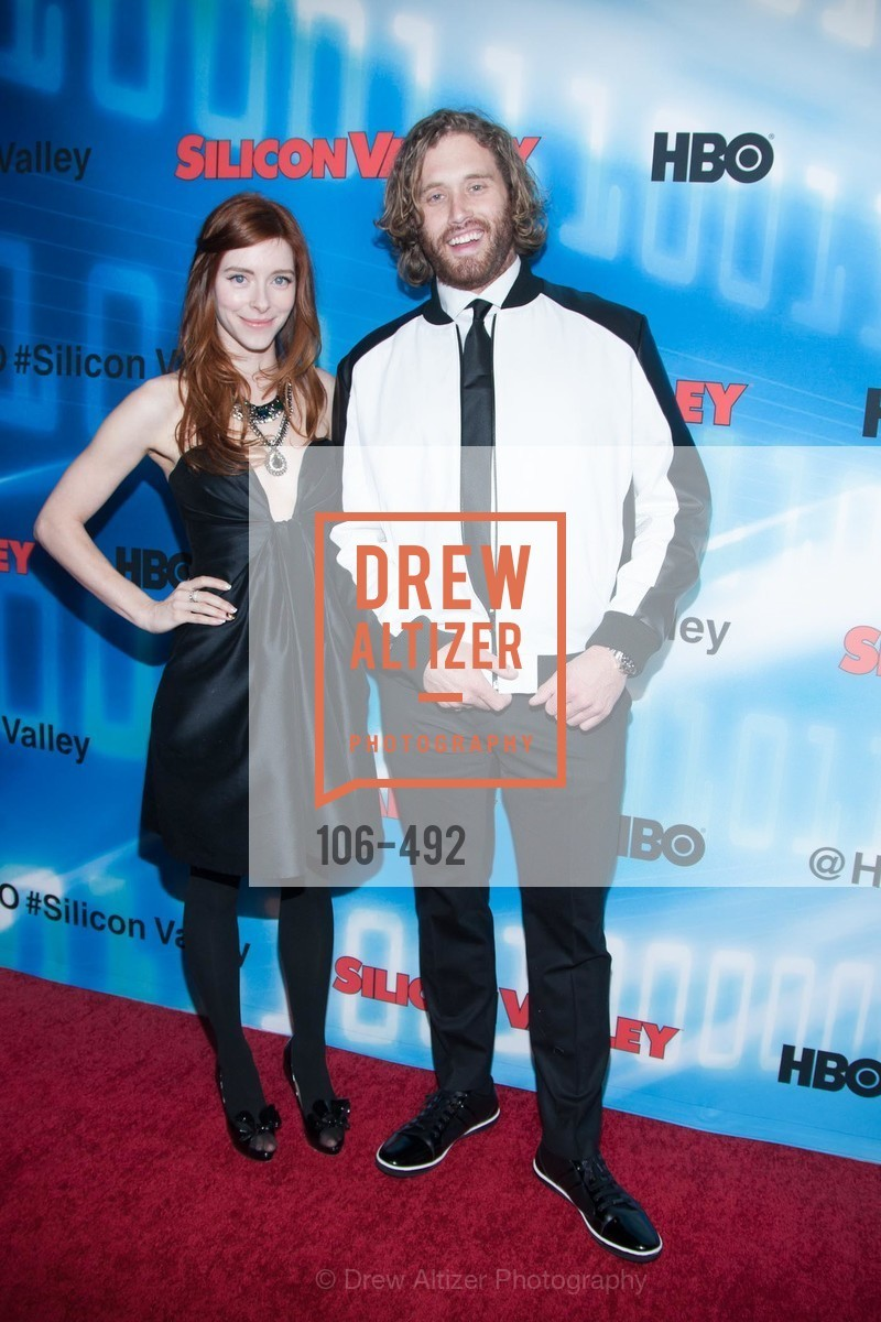 Kate Thorney, TJ Miller, HBO Original Series 'Silicon Valley' Bay Area Premiere, US. US, April 2nd, 2014,Drew Altizer, Drew Altizer Photography, full-service agency, private events, San Francisco photographer, photographer california