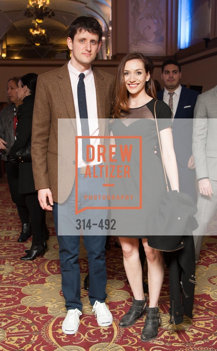Zach Woods, Jocelyn DeBoer, HBO Original Series 'Silicon Valley' Bay Area Premiere, US. US, April 2nd, 2014,Drew Altizer, Drew Altizer Photography, full-service event agency, private events, San Francisco photographer, photographer California
