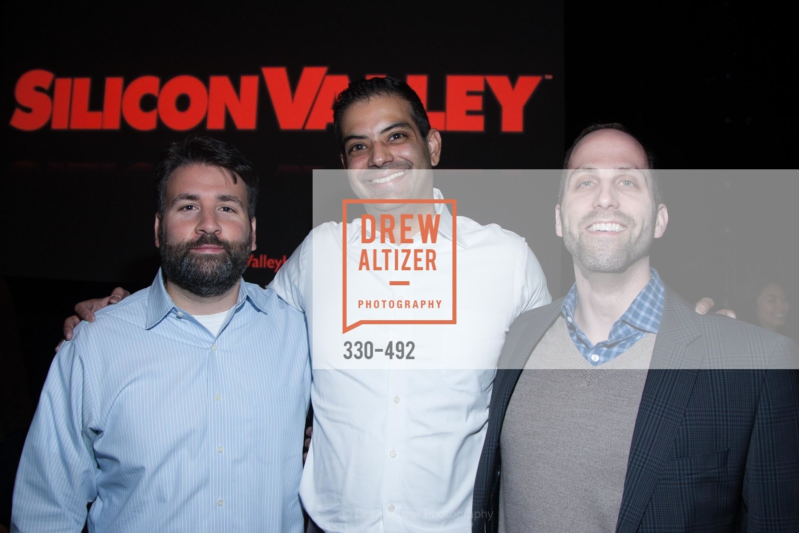 Joe Bahr, Nevin Kamath, Jeremy Strauss, HBO Original Series 'Silicon Valley' Bay Area Premiere, US. US, April 2nd, 2014,Drew Altizer, Drew Altizer Photography, full-service agency, private events, San Francisco photographer, photographer california