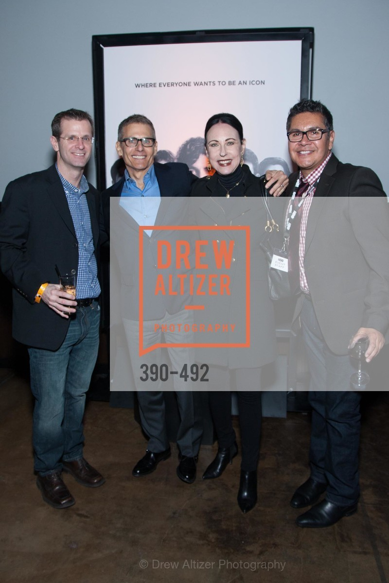 Jeff Cusson, Michael Lombardo, Nancy Lesser, David Castro, HBO Original Series 'Silicon Valley' Bay Area Premiere, US. US, April 2nd, 2014,Drew Altizer, Drew Altizer Photography, full-service agency, private events, San Francisco photographer, photographer california