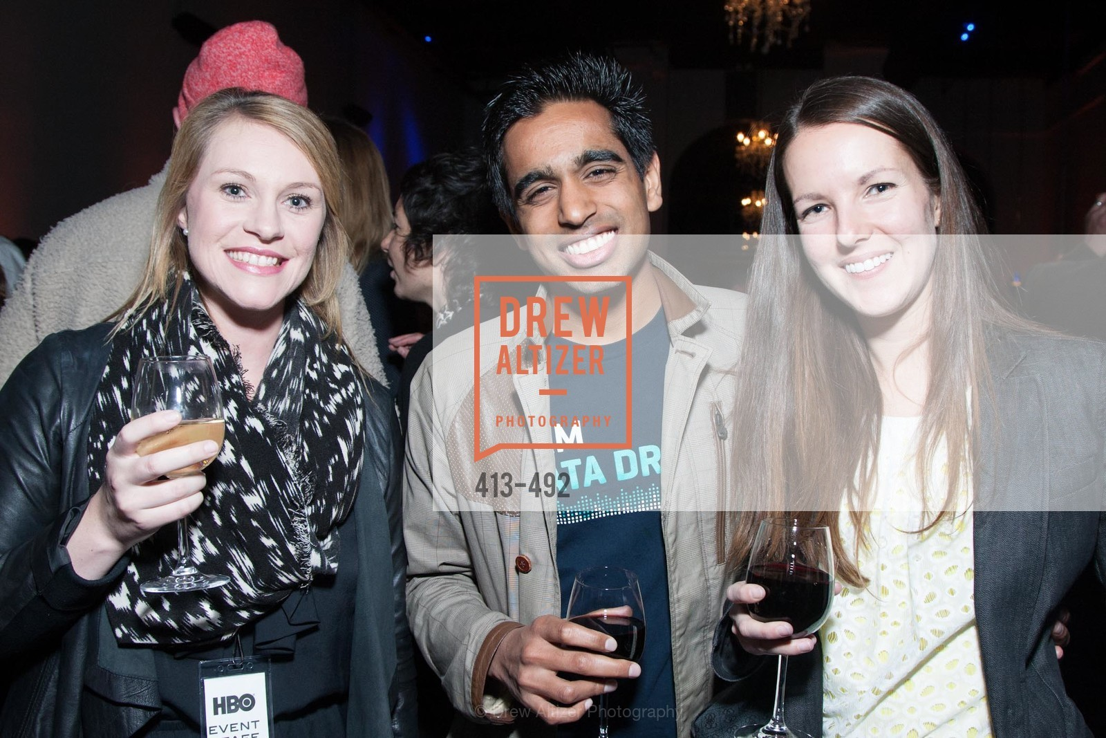 Caitlin Bryand, Suhail Doshi, Laura Sadatt, HBO Original Series 'Silicon Valley' Bay Area Premiere, US. US, April 2nd, 2014,Drew Altizer, Drew Altizer Photography, full-service agency, private events, San Francisco photographer, photographer california