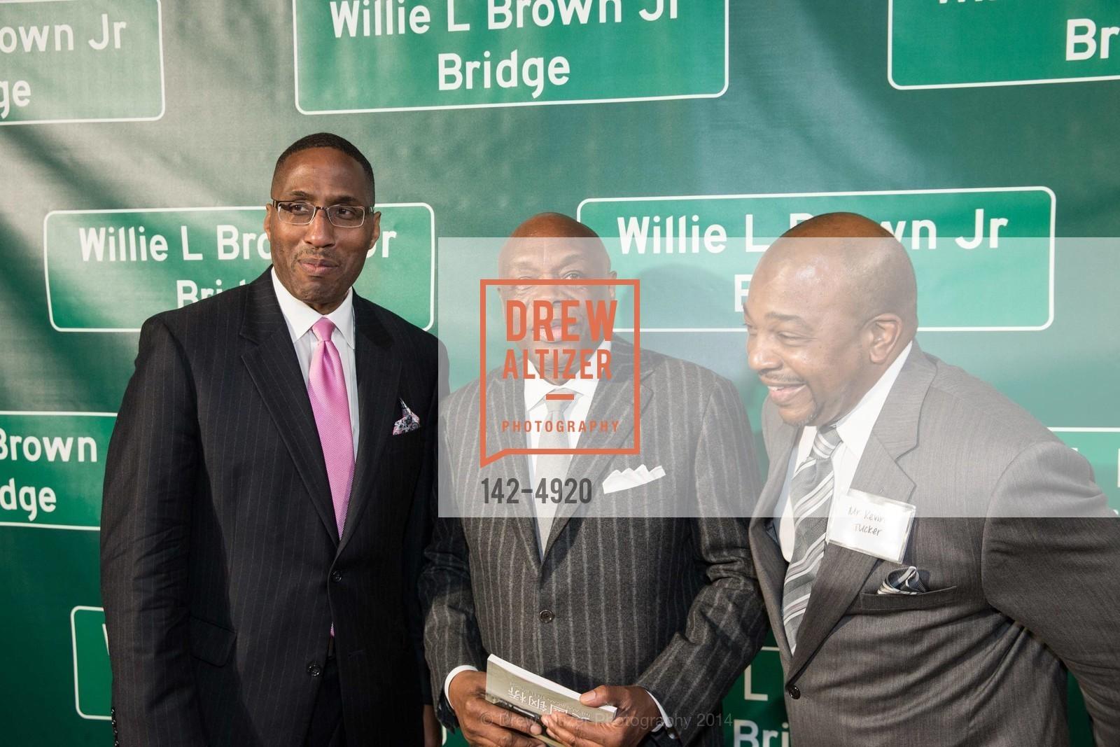 Willie Brown, Kevin Tucker, Photo #142-4920