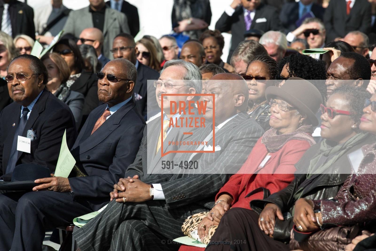 Mayor Ed Lee, Willie Brown, Photo #591-4920