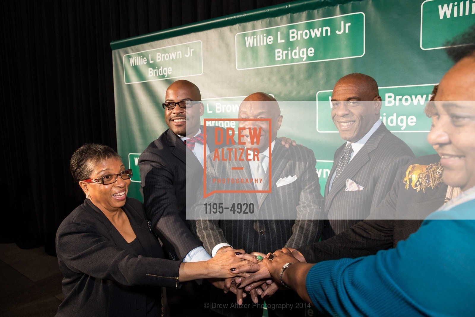 Gwen Moore, Isadore Hall, Willie Brown, Steven Bradford, Photo #1195-4920