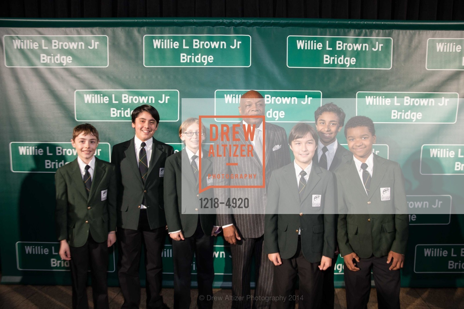 Willie Brown, Pacific Boy Choir Academy, Photo #1218-4920