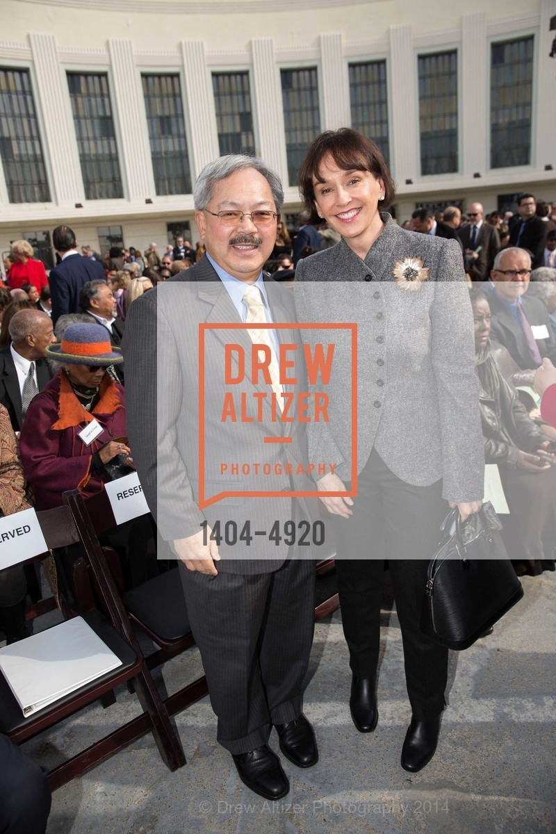 Mayor Ed Lee, Elisa Stephens, Photo #1404-4920