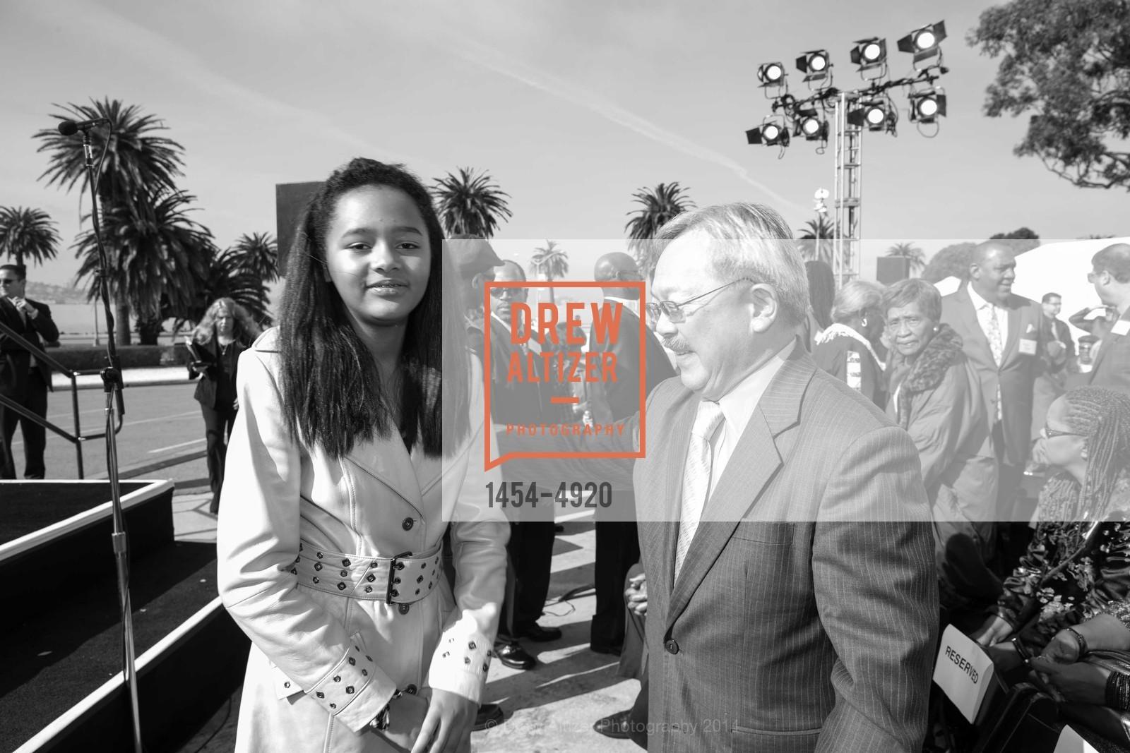 Sydney Brown, Mayor Ed Lee, Photo #1454-4920