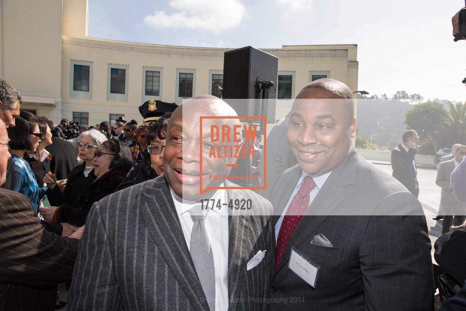 Willie Brown, Chris Brown, Photo #1774-4920