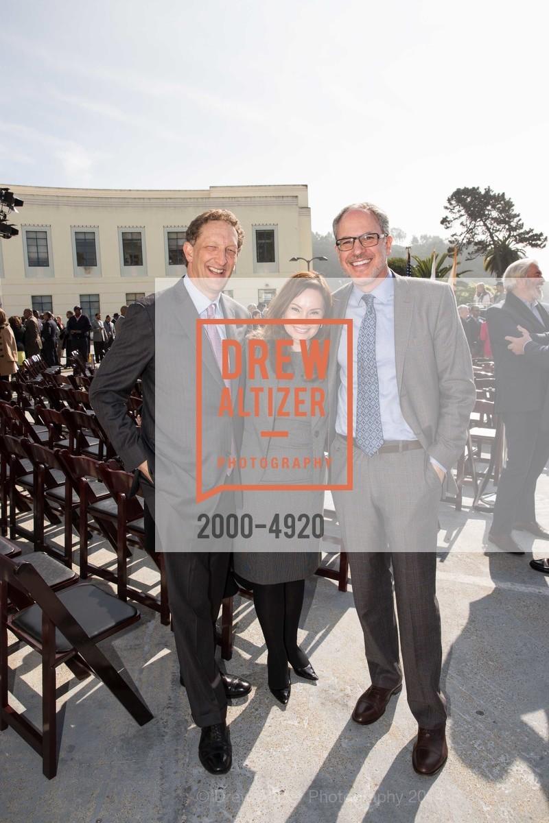 Larry Baer, Sam Lauter, Gil Filmore, Photo #2000-4920