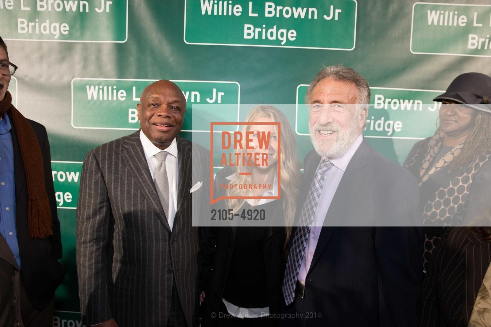 Willie Brown, Richard Katz, Photo #2105-4920