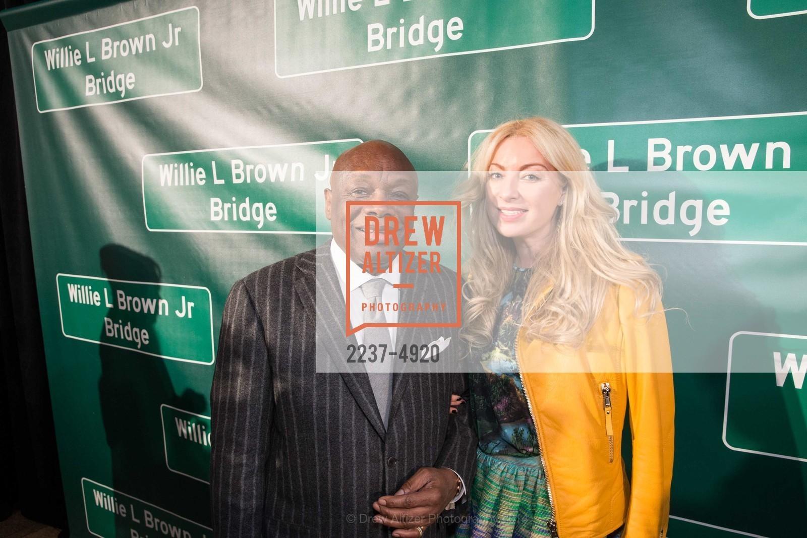 Willie Brown, Sonya Molodetskaya, Photo #2237-4920