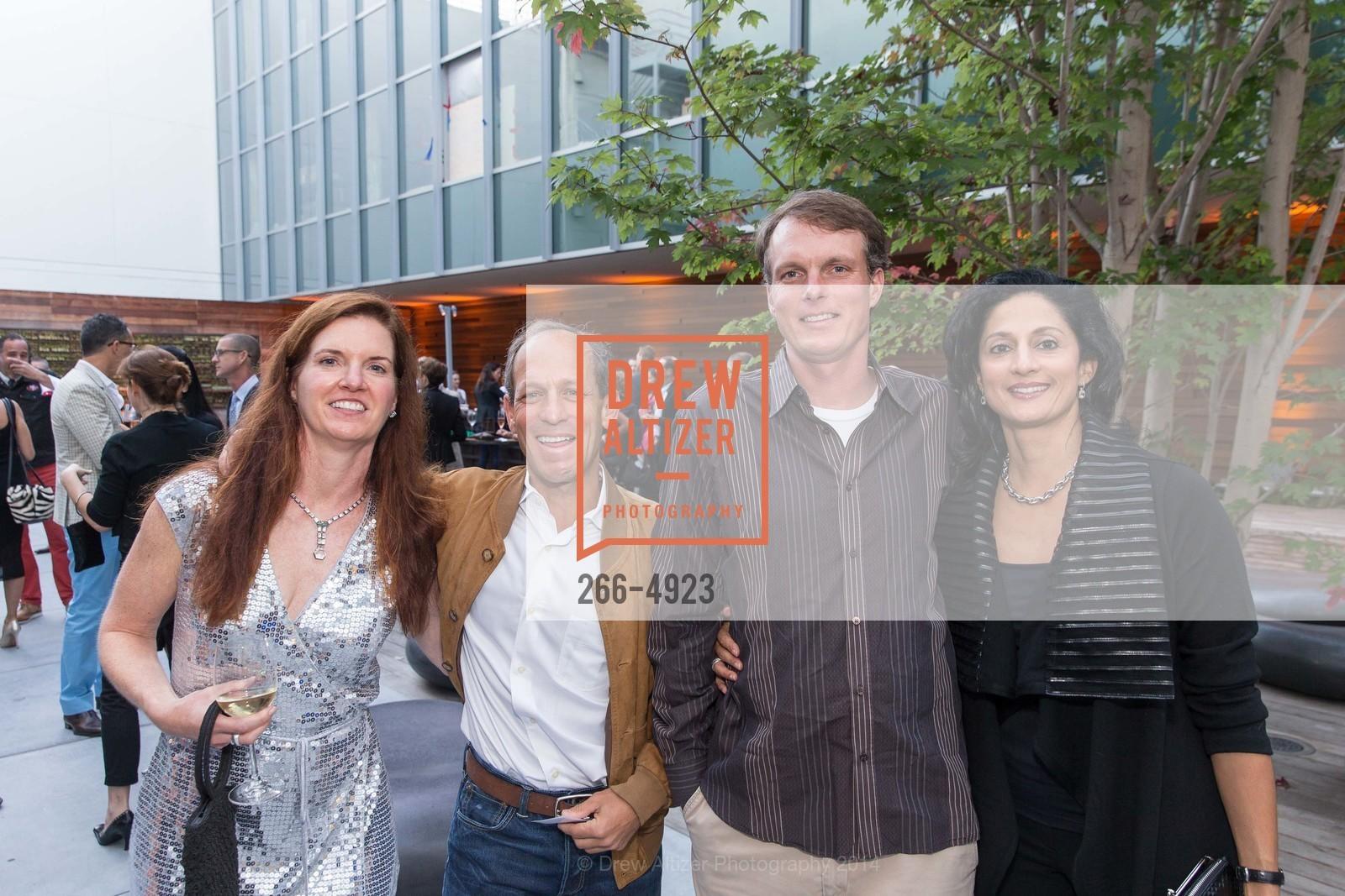 Gabrielle Poledano, David Singer, Kurt Gantert, Leela DeSouza, Photo #266-4923