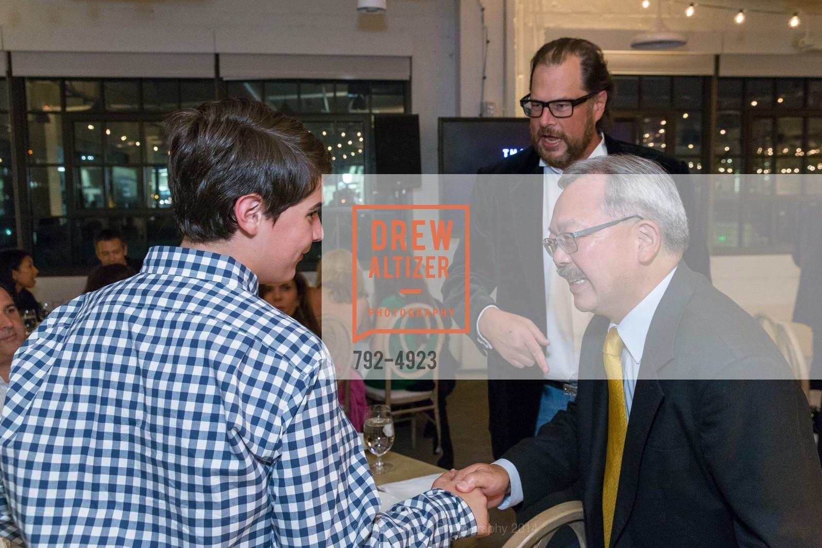 Marc Benioff, Mayor Ed Lee, Photo #792-4923