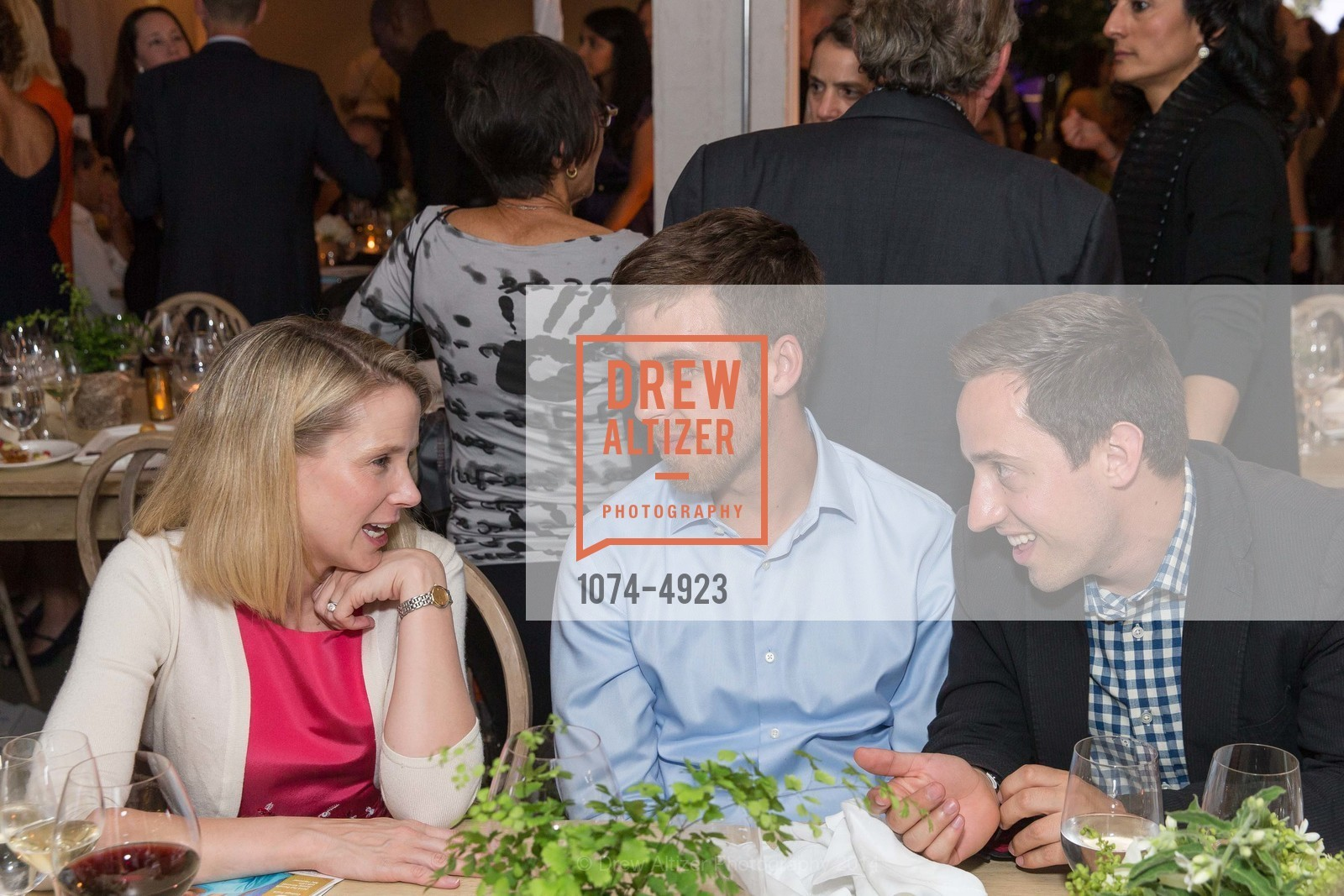 Marissa Mayer, Dan Carroll, Tyler Bosmeny, Photo #1074-4923