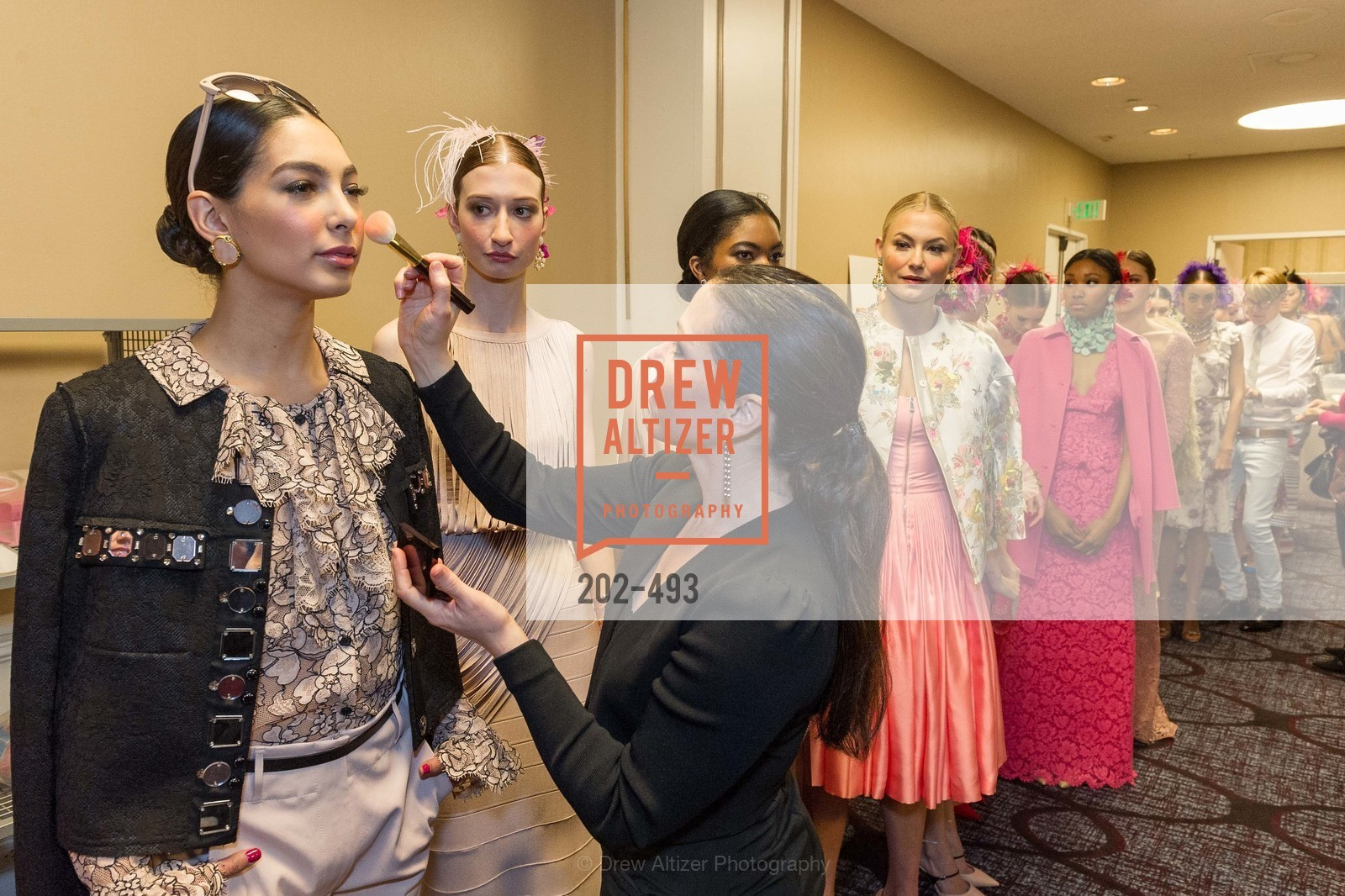 Back Stage, SAN FRANCISCO BALLET AUXULIARY 2014 Fashion Show, April 3rd, 2014, Photo,Drew Altizer, Drew Altizer Photography, full-service agency, private events, San Francisco photographer, photographer california