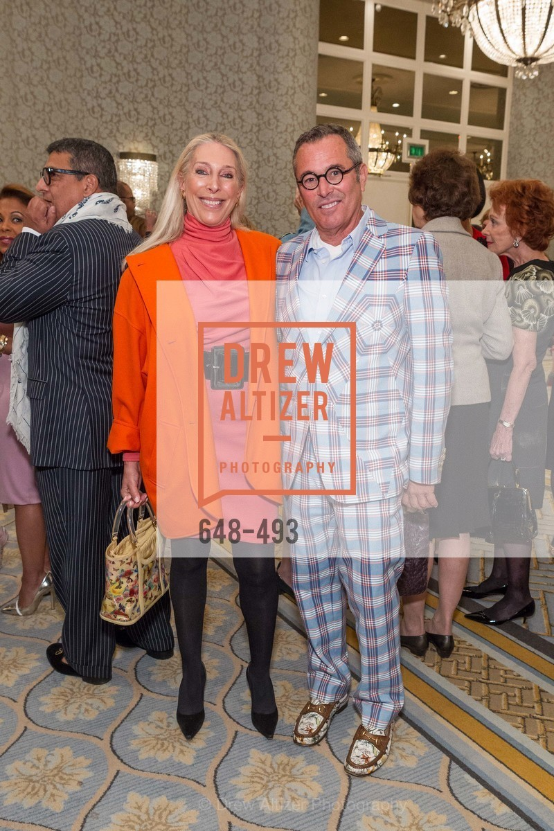 Betsy Linder, Ricky Serbin, SAN FRANCISCO BALLET AUXULIARY 2014 Fashion Show, US. The Fairmont, April 3rd, 2014,Drew Altizer, Drew Altizer Photography, full-service agency, private events, San Francisco photographer, photographer california