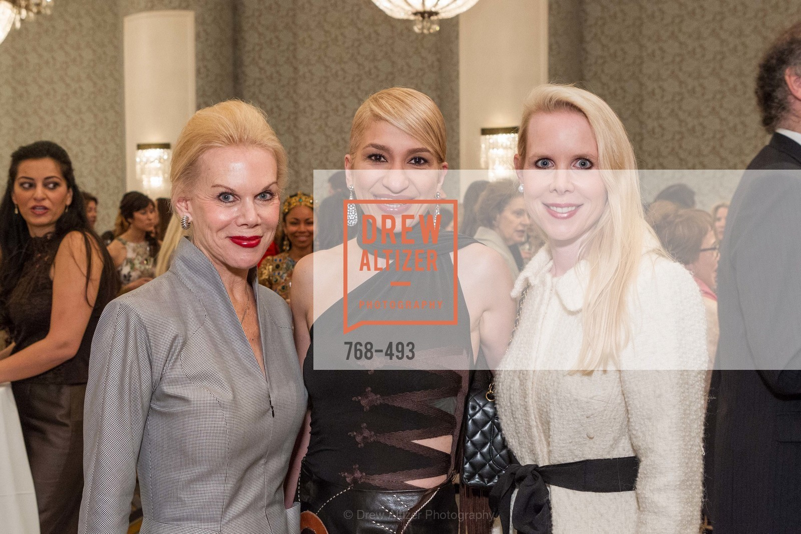 Sandra Farris, Navid Armstrong, Shannon Cronan, SAN FRANCISCO BALLET AUXULIARY 2014 Fashion Show, US. The Fairmont, April 3rd, 2014,Drew Altizer, Drew Altizer Photography, full-service agency, private events, San Francisco photographer, photographer california