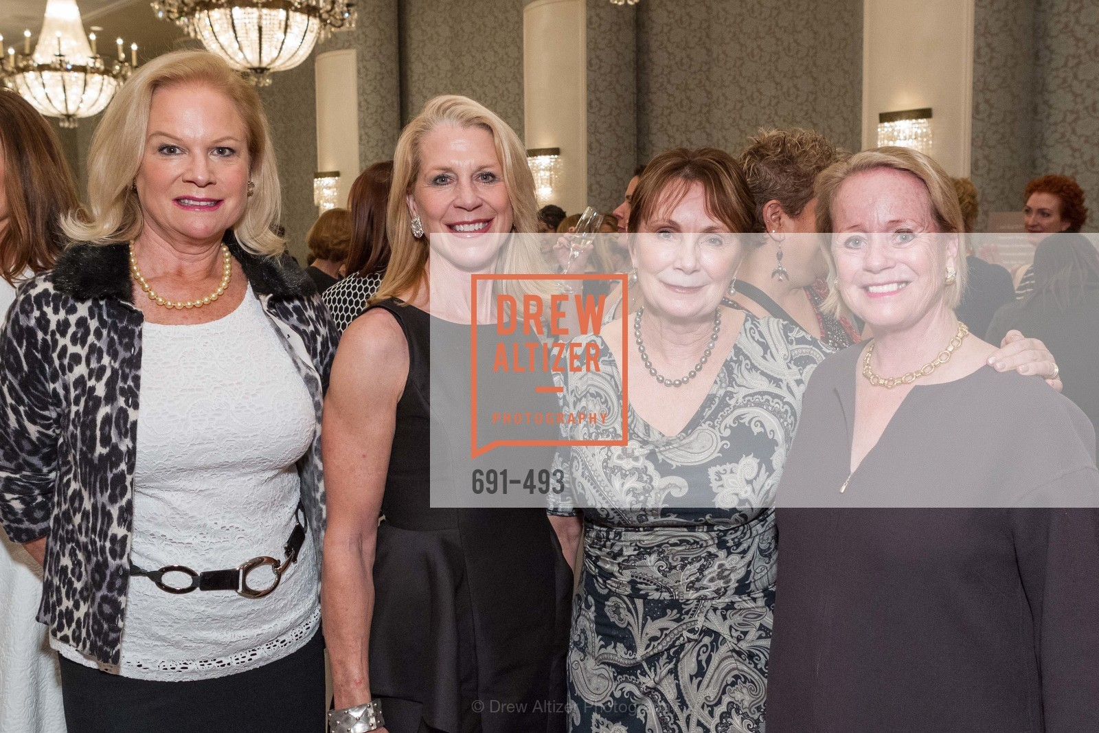 Claire Kostic, Kimberly Hopper, Lorraine Gordon, Jane Witter, SAN FRANCISCO BALLET AUXULIARY 2014 Fashion Show, US. The Fairmont, April 3rd, 2014,Drew Altizer, Drew Altizer Photography, full-service agency, private events, San Francisco photographer, photographer california