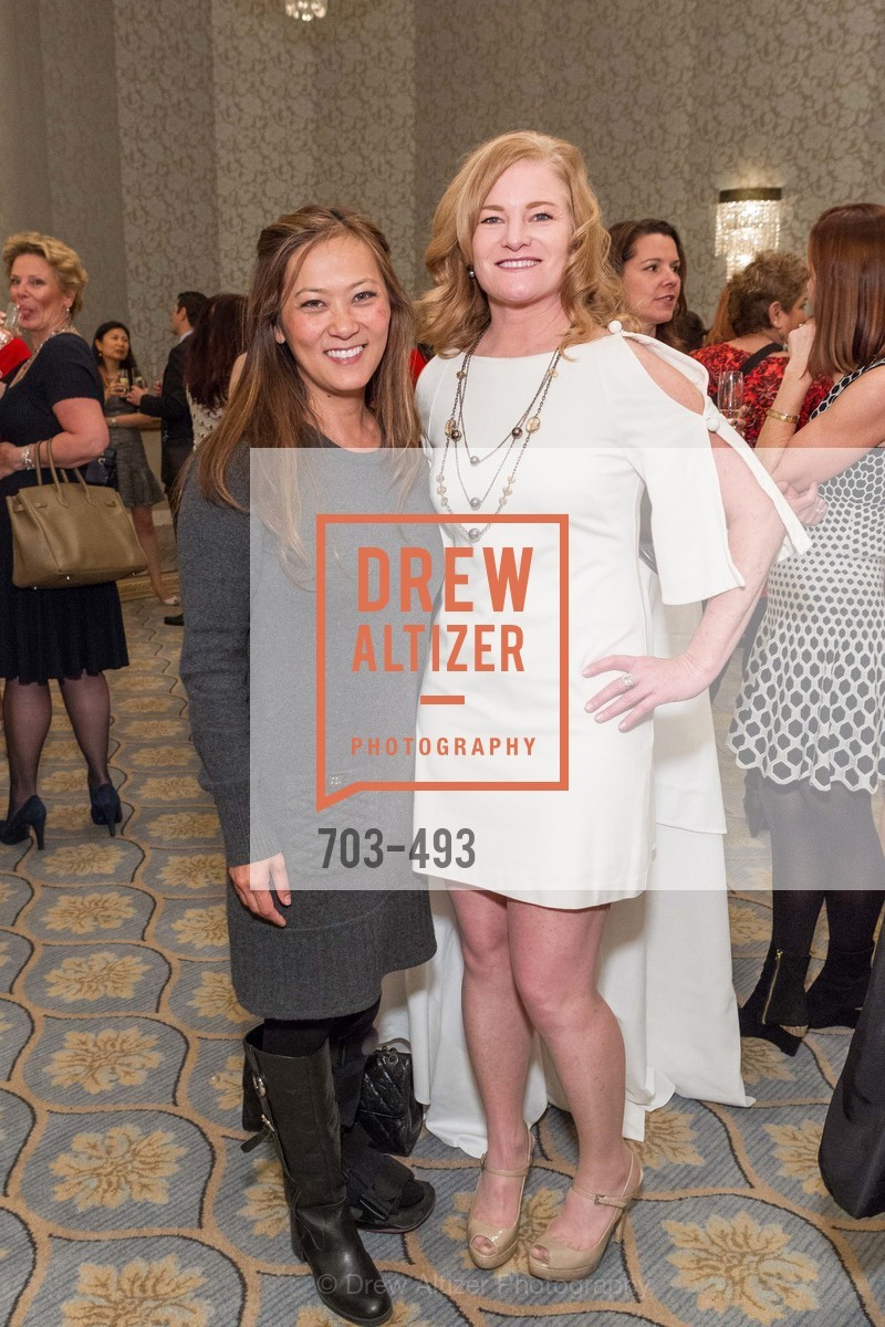 Elizabeth Fullerton, Rene Rodman, SAN FRANCISCO BALLET AUXULIARY 2014 Fashion Show, US. The Fairmont, April 3rd, 2014
