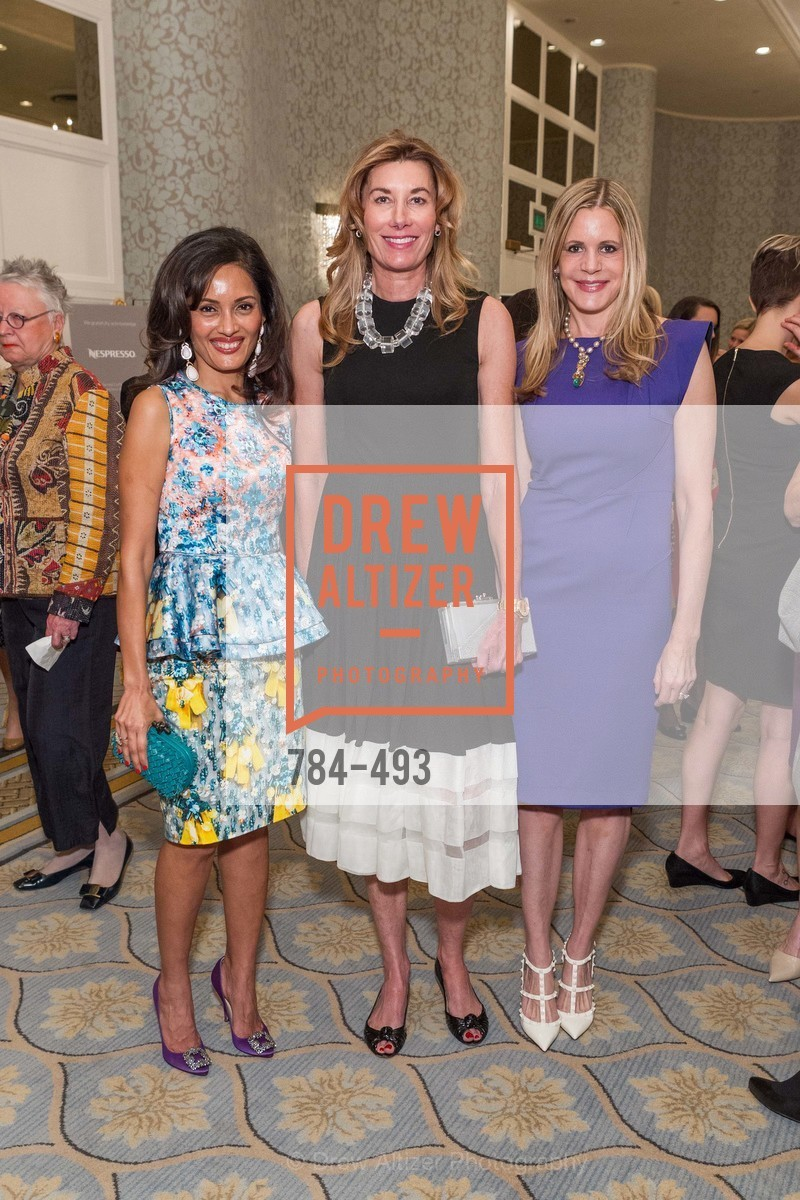 Komal Shah, Susan Dunlevy, Mary Beth Shimmon, SAN FRANCISCO BALLET AUXULIARY 2014 Fashion Show, US. The Fairmont, April 3rd, 2014