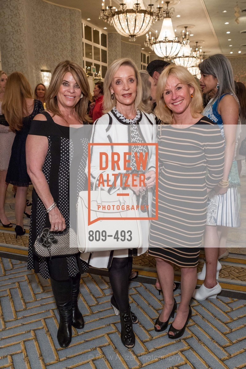 Carol Middleton, Barbara Brown, Kathy Guibara, SAN FRANCISCO BALLET AUXULIARY 2014 Fashion Show, US. The Fairmont, April 3rd, 2014,Drew Altizer, Drew Altizer Photography, full-service agency, private events, San Francisco photographer, photographer california