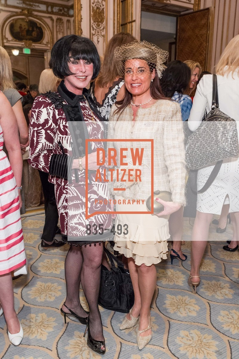 Marilyn Cabak, Natalia Urrutia, SAN FRANCISCO BALLET AUXULIARY 2014 Fashion Show, US. The Fairmont, April 3rd, 2014,Drew Altizer, Drew Altizer Photography, full-service event agency, private events, San Francisco photographer, photographer California