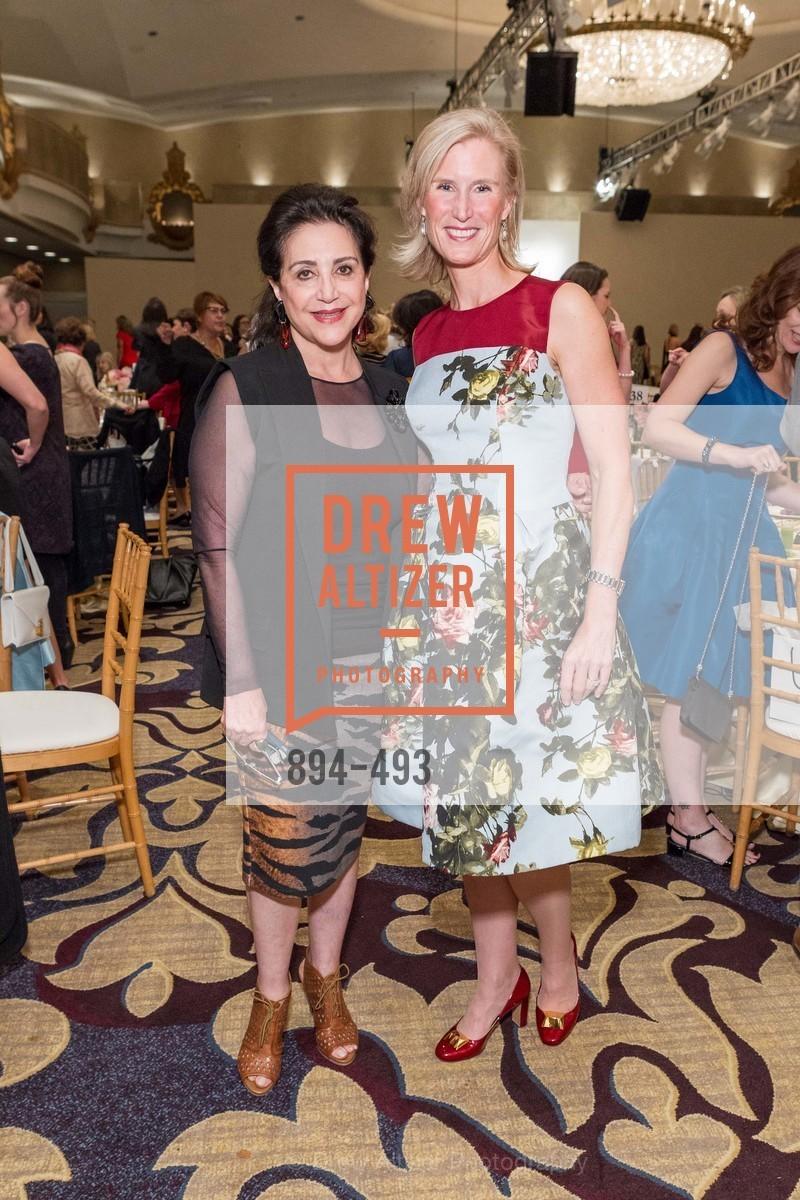 Lily Samii, Alison Mauze, SAN FRANCISCO BALLET AUXULIARY 2014 Fashion Show, US. The Fairmont, April 3rd, 2014