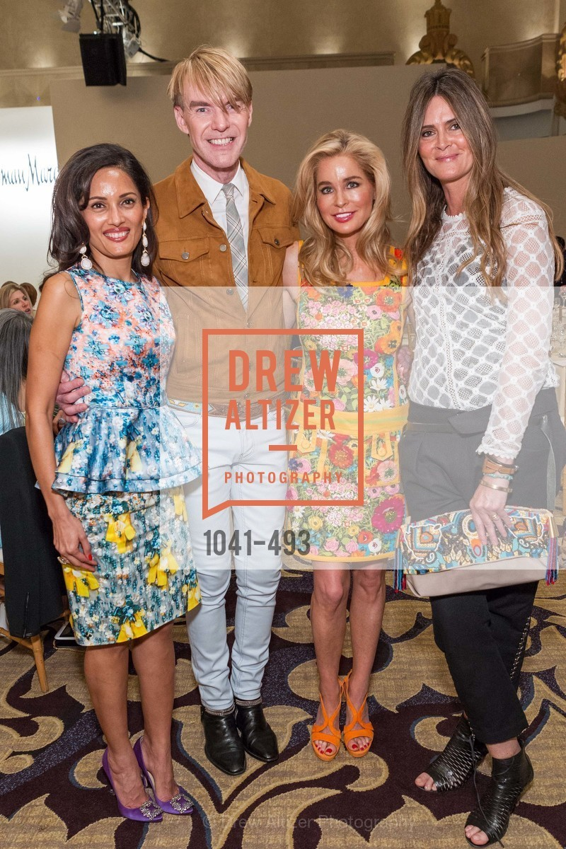 Komal Shah, Ken Downing, Paula Carano, Vicky Winston, SAN FRANCISCO BALLET AUXULIARY 2014 Fashion Show, US. The Fairmont, April 3rd, 2014,Drew Altizer, Drew Altizer Photography, full-service agency, private events, San Francisco photographer, photographer california