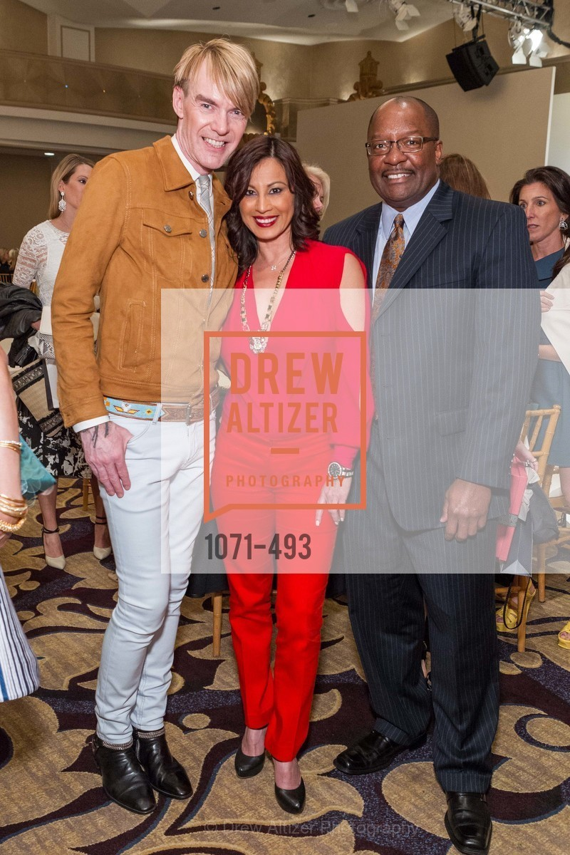 Ken Downing, Claudia Santana, Don Tynes, SAN FRANCISCO BALLET AUXULIARY 2014 Fashion Show, US. The Fairmont, April 3rd, 2014,Drew Altizer, Drew Altizer Photography, full-service agency, private events, San Francisco photographer, photographer california