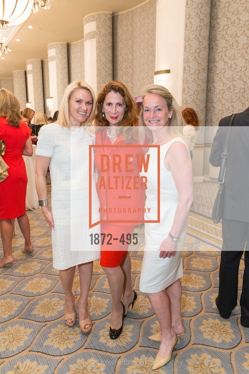 Maria Ralph, Patricia Ferrin Loucks, Shelby Strudwick, SAN FRANCISCO BALLET AUXULIARY 2014 Fashion Show, US. The Fairmont, April 3rd, 2014,Drew Altizer, Drew Altizer Photography, full-service agency, private events, San Francisco photographer, photographer california