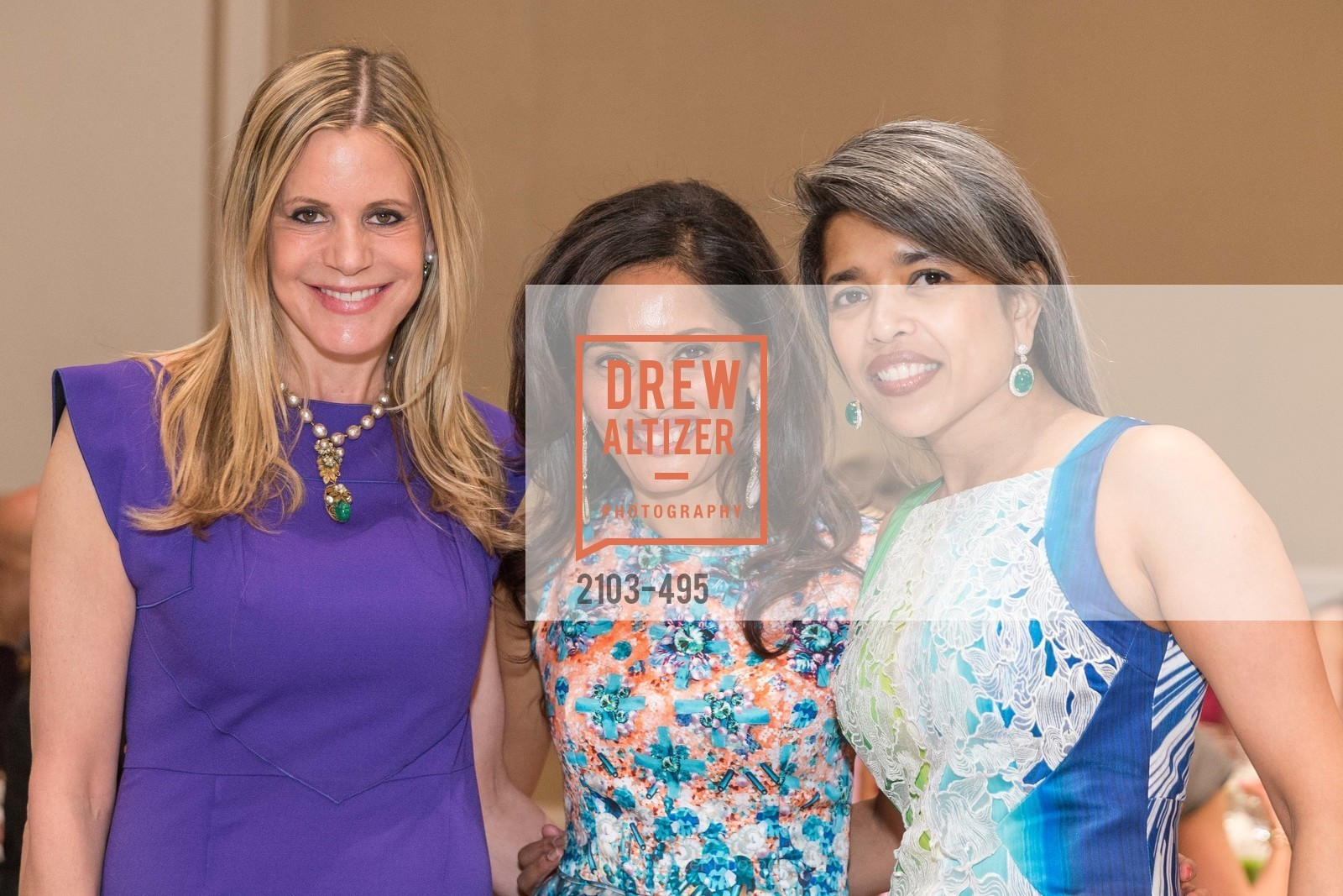 Mary Beth Shimmon, Komal Shah, Deepa Pakianathan, SAN FRANCISCO BALLET AUXULIARY 2014 Fashion Show, US. The Fairmont, April 3rd, 2014,Drew Altizer, Drew Altizer Photography, full-service agency, private events, San Francisco photographer, photographer california
