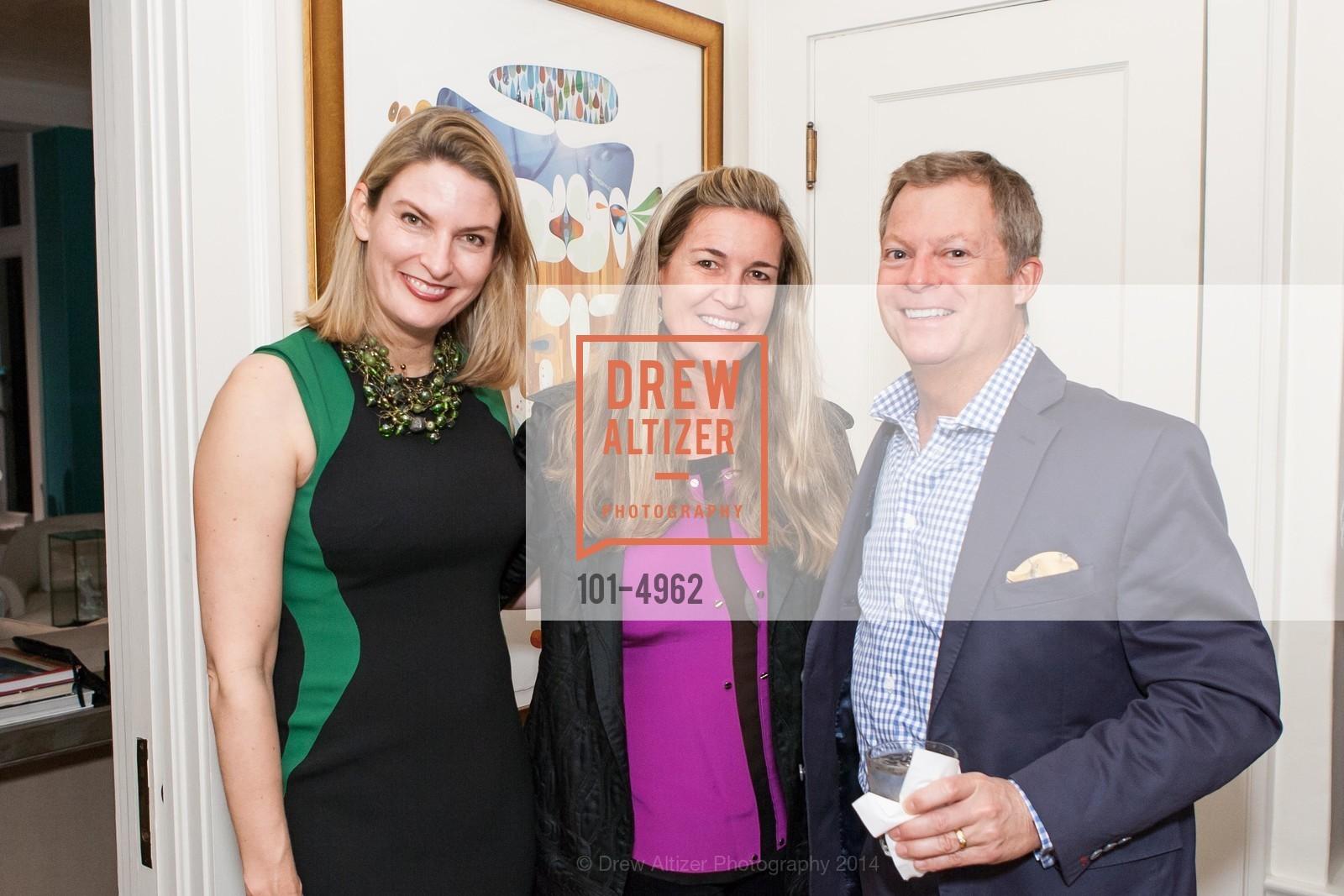 Mindy Henderson, Hilary Armstrong, Bill Grayson, Photo #101-4962