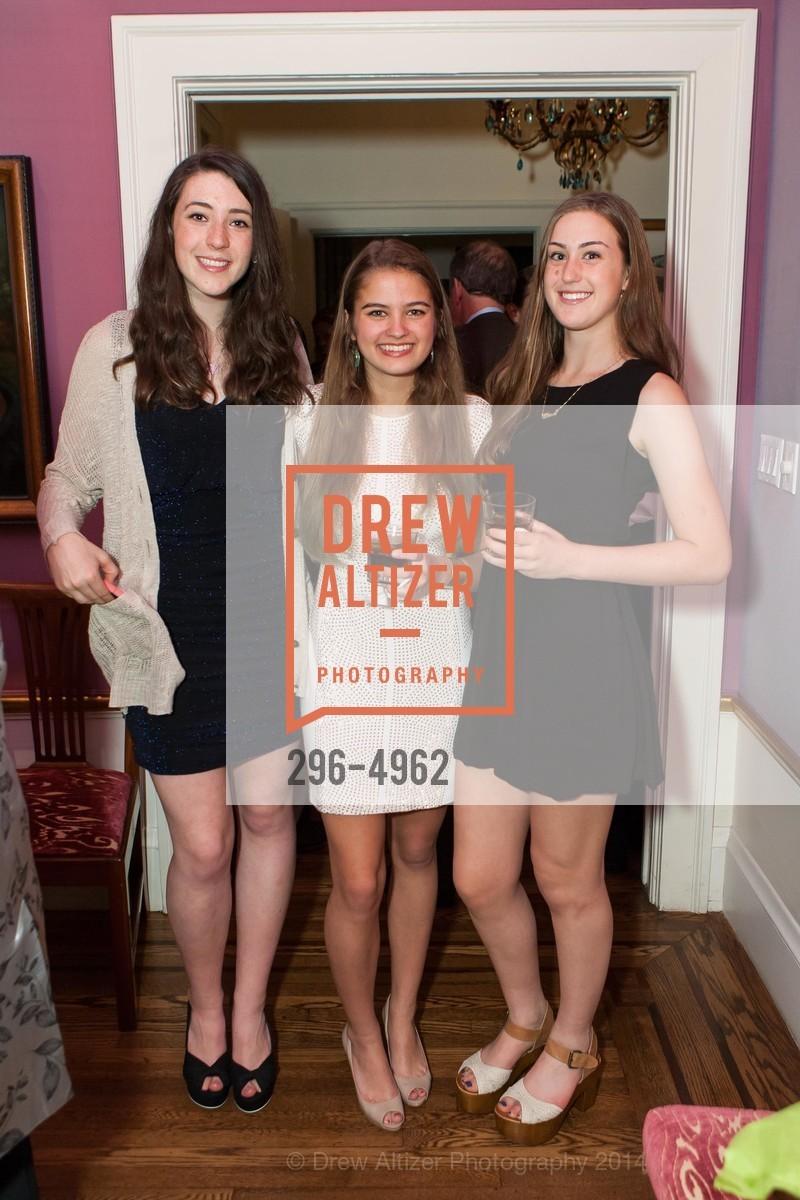 Devon Gauder, Veronica Henderson, Clara Levy, Photo #296-4962