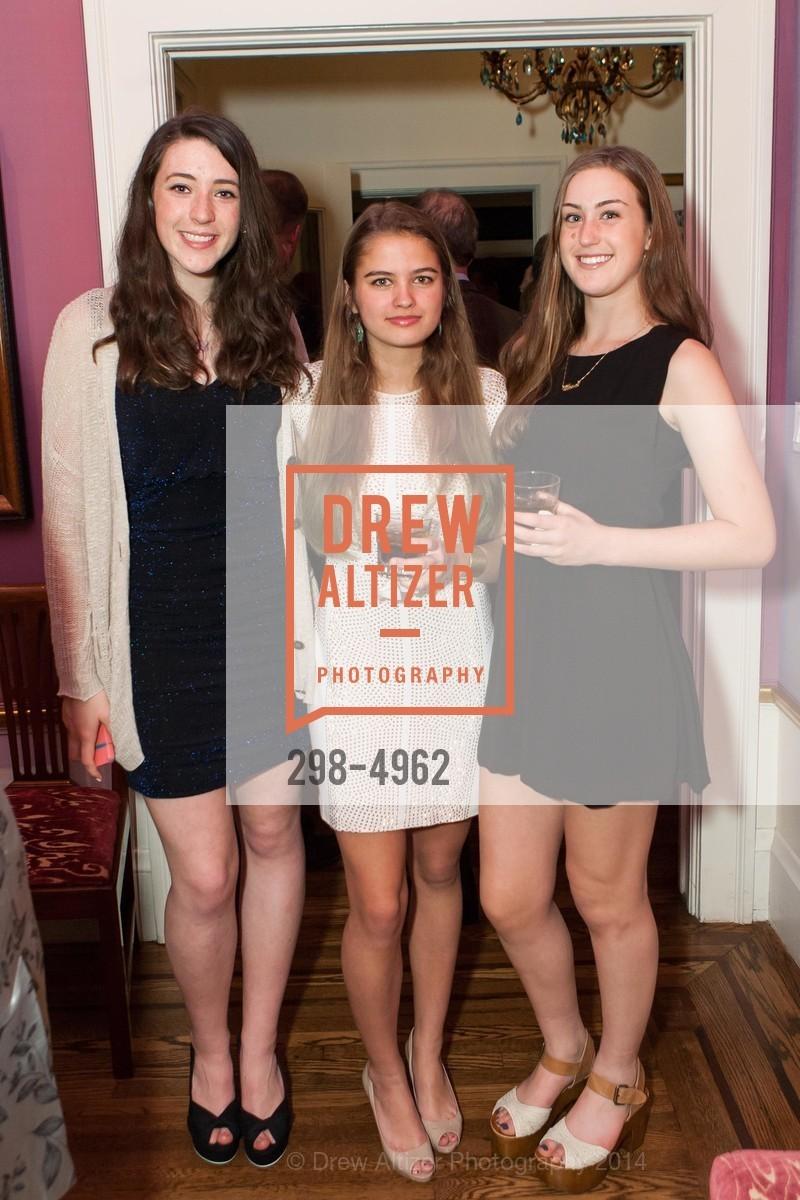 Devon Gauder, Veronica Henderson, Clara Levy, Photo #298-4962