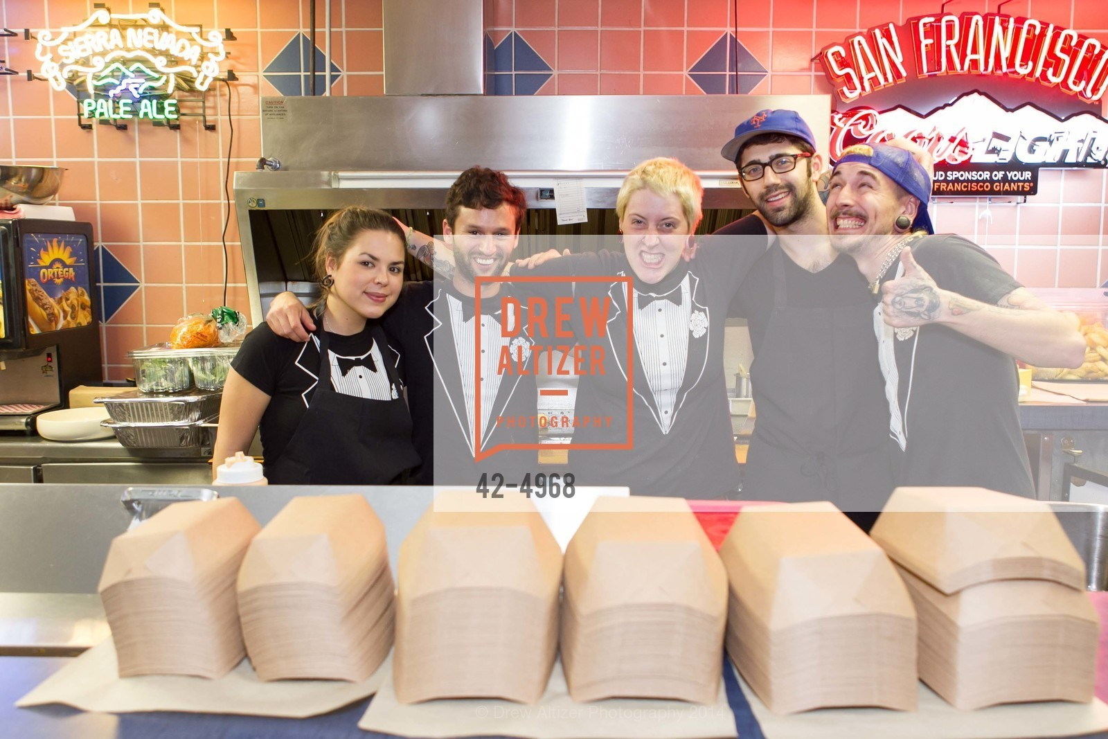 Alex Naval, Zak Silverman, Liz Endicott, Mike Thurnaver, Kyle Hord, Photo #42-4968
