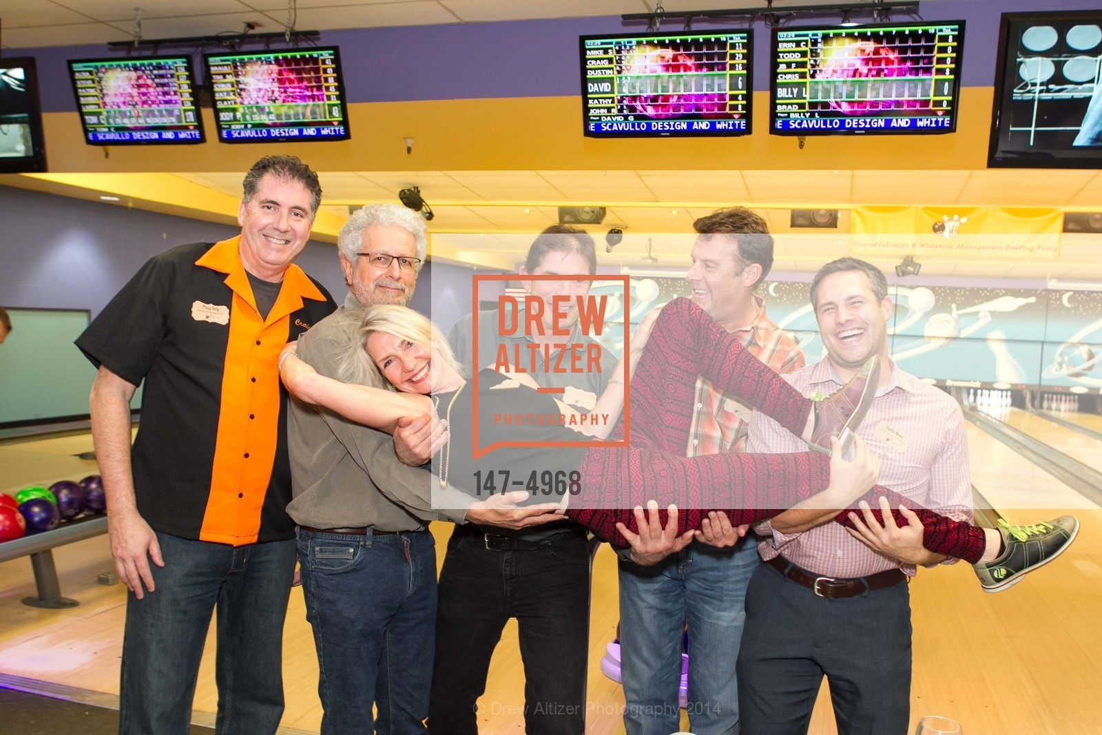 Craig Doty, David Gast, Kathy Best, John Rosekrans, Dustin Moore, Photo #147-4968