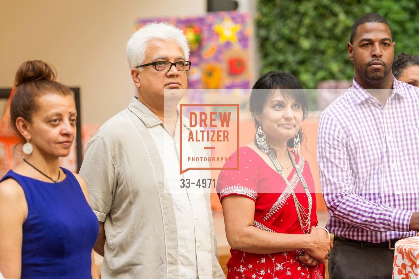 Eji Atlaw, Paresh Patel, Heena Patel, Charles Farrier, Photo #33-4971