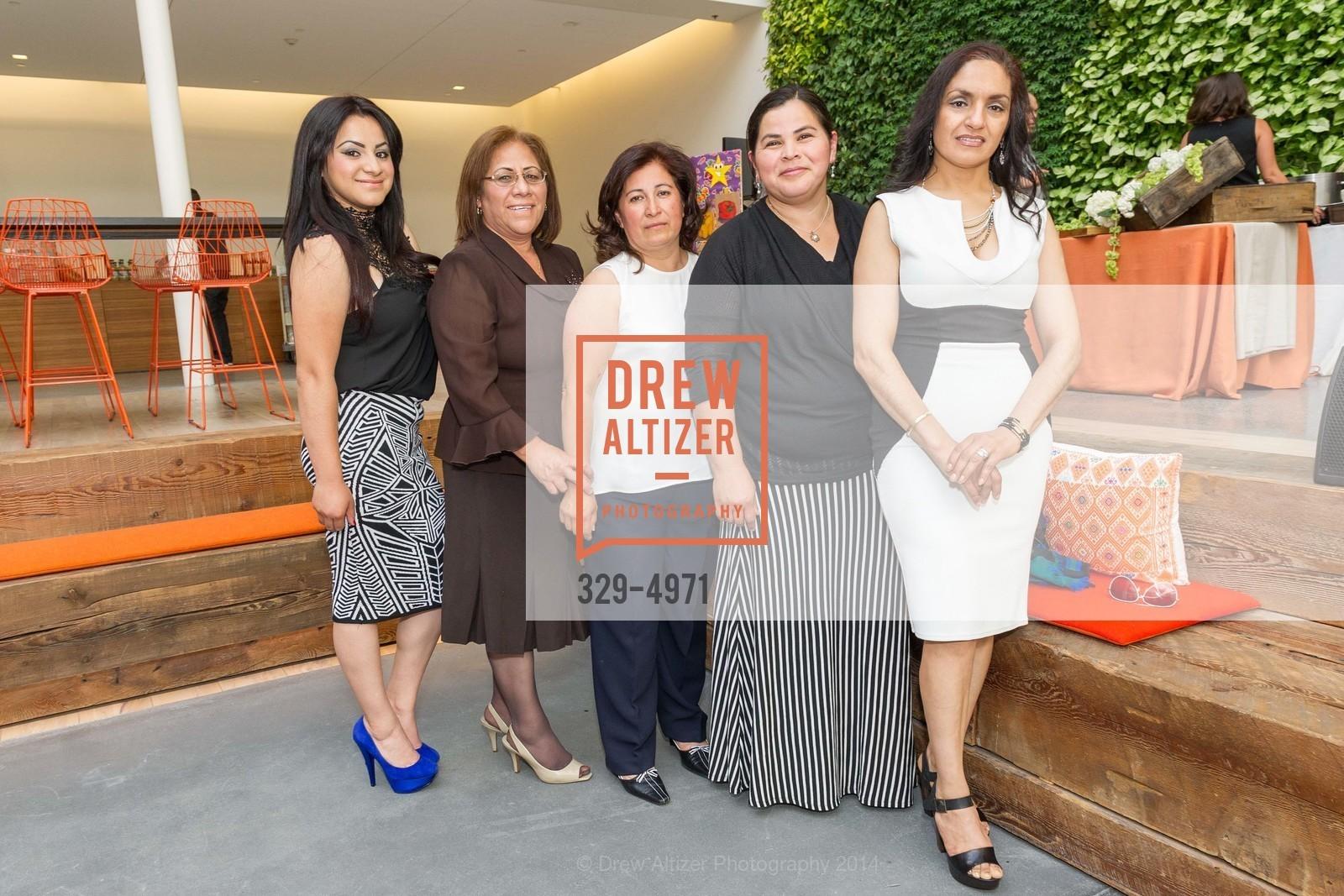Brenda Juarez, Guadalupe Guerrero, Isabel Pasos, Vinsa Lugo, Rosa Ortiz, Photo #329-4971