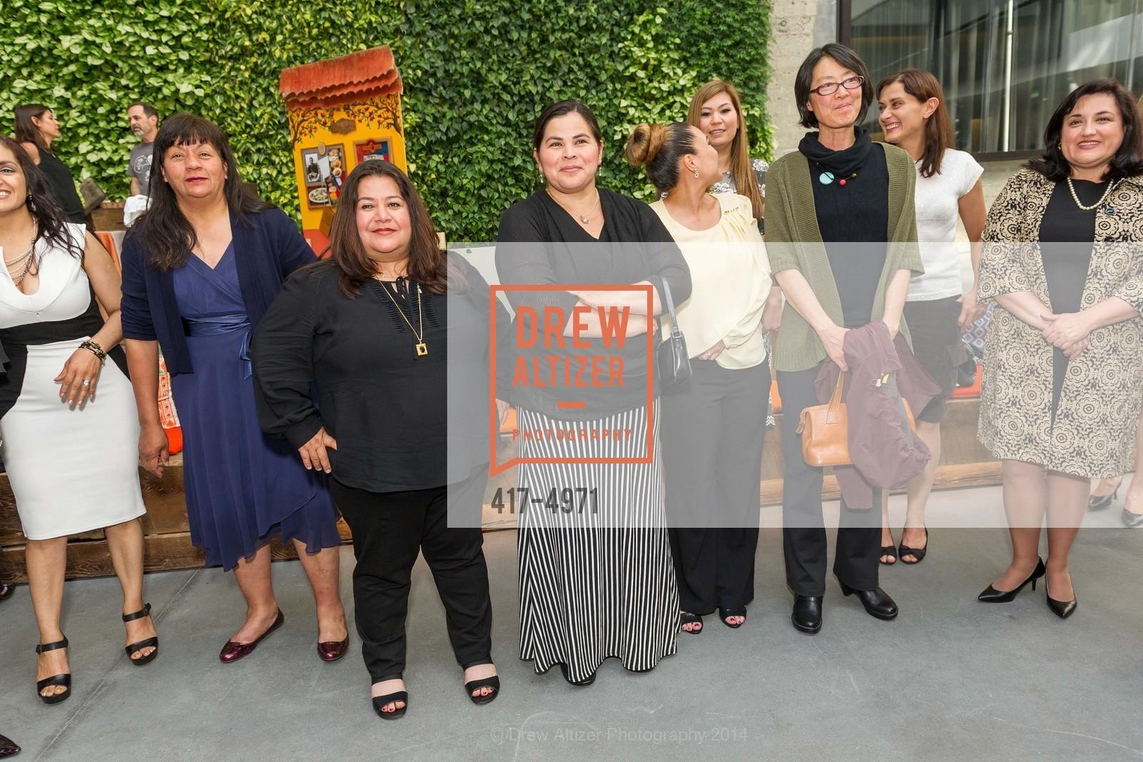 Alicia Villanueva, Vinsa Lugo, Antoinette Sanchez, ? Brenda Juarez, Photo #417-4971