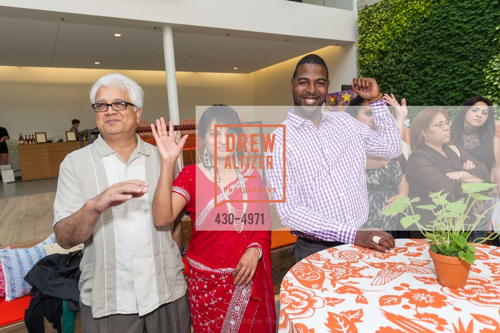 Paresh Patel, Heena Patel, Charles Farrier, Photo #430-4971