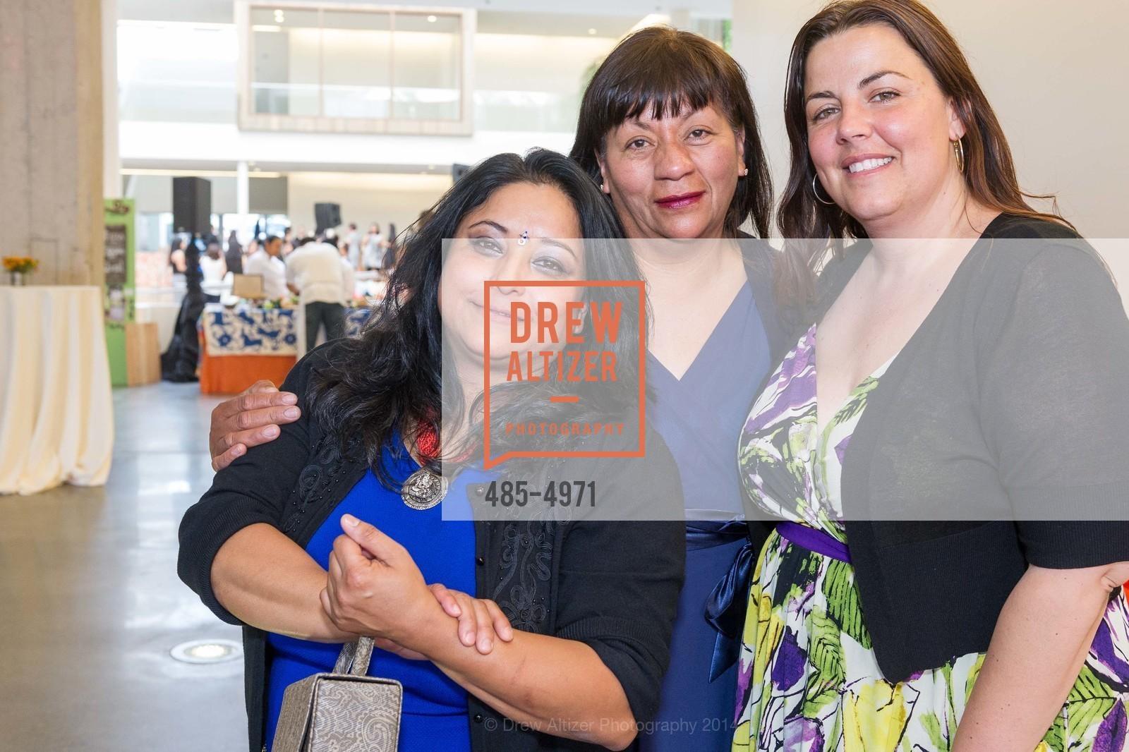 Bini Pradhan, Alicia Villanueva, Donna Sky, Photo #485-4971