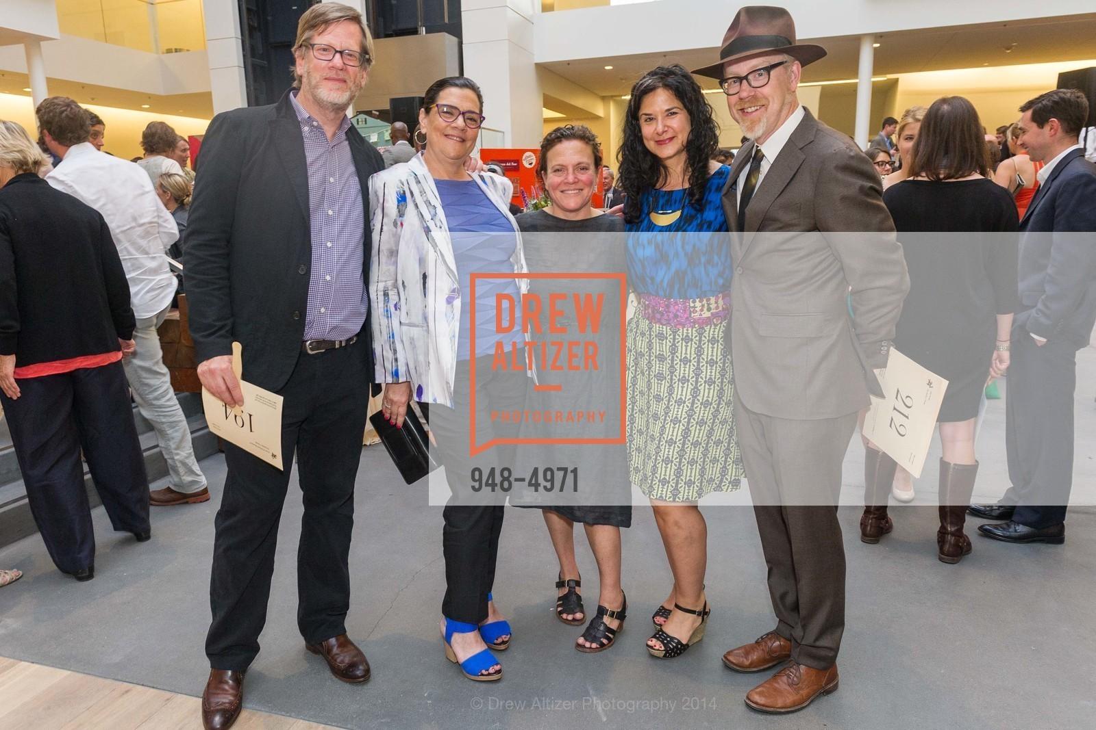 Andy Rappaport, Deborah Rappaport, Traci Des Jardin, Rebecca ?, Adam Savage, Photo #948-4971