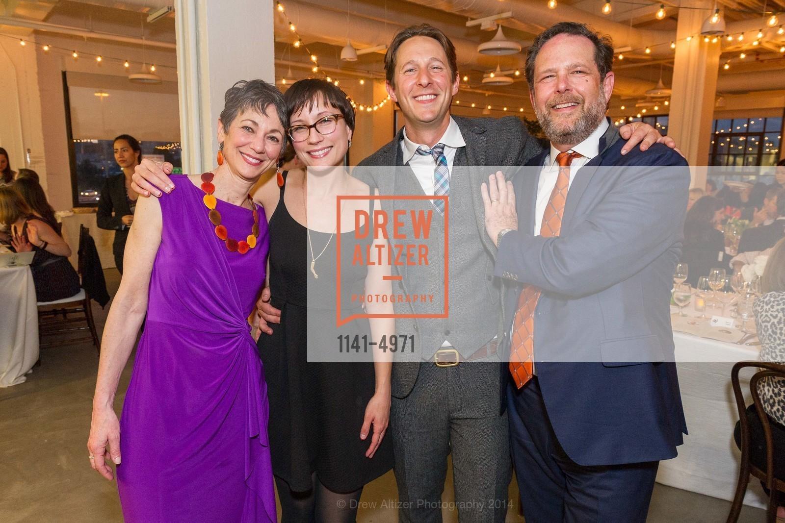 Jody Levin Epstein, Jenny Pass, Caleb Zigas, Barry Zigas, Photo #1141-4971