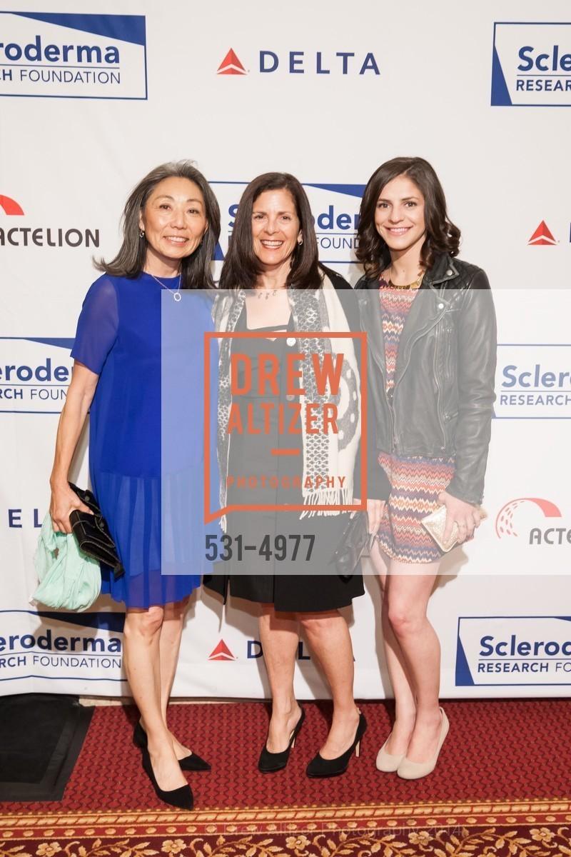 Patsy Ishiyama, Marjorie Swig, Abigail Erhlich, Photo #531-4977