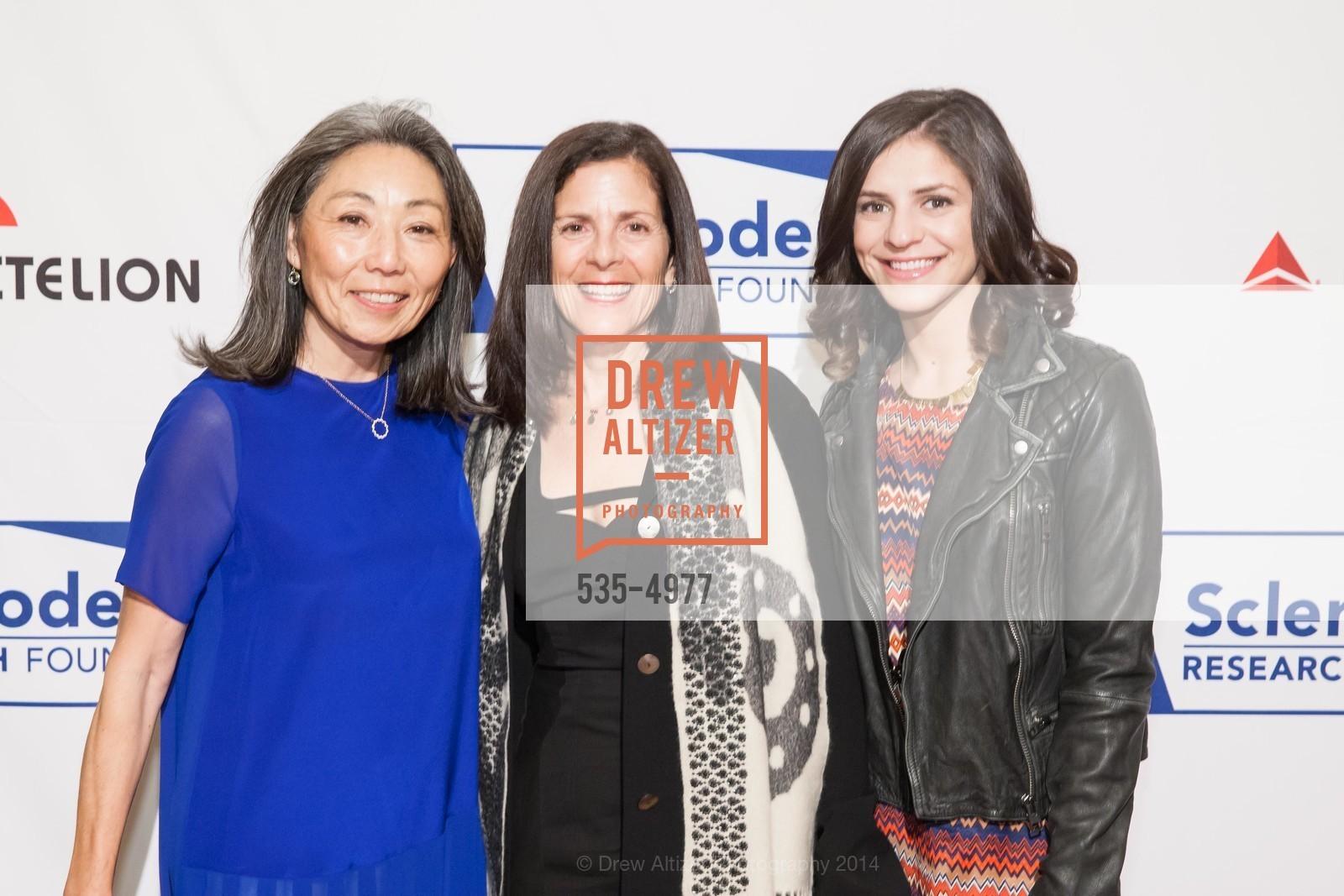 Patsy Ishiyama, Marjorie Swig, Abigail Erhlich, Photo #535-4977