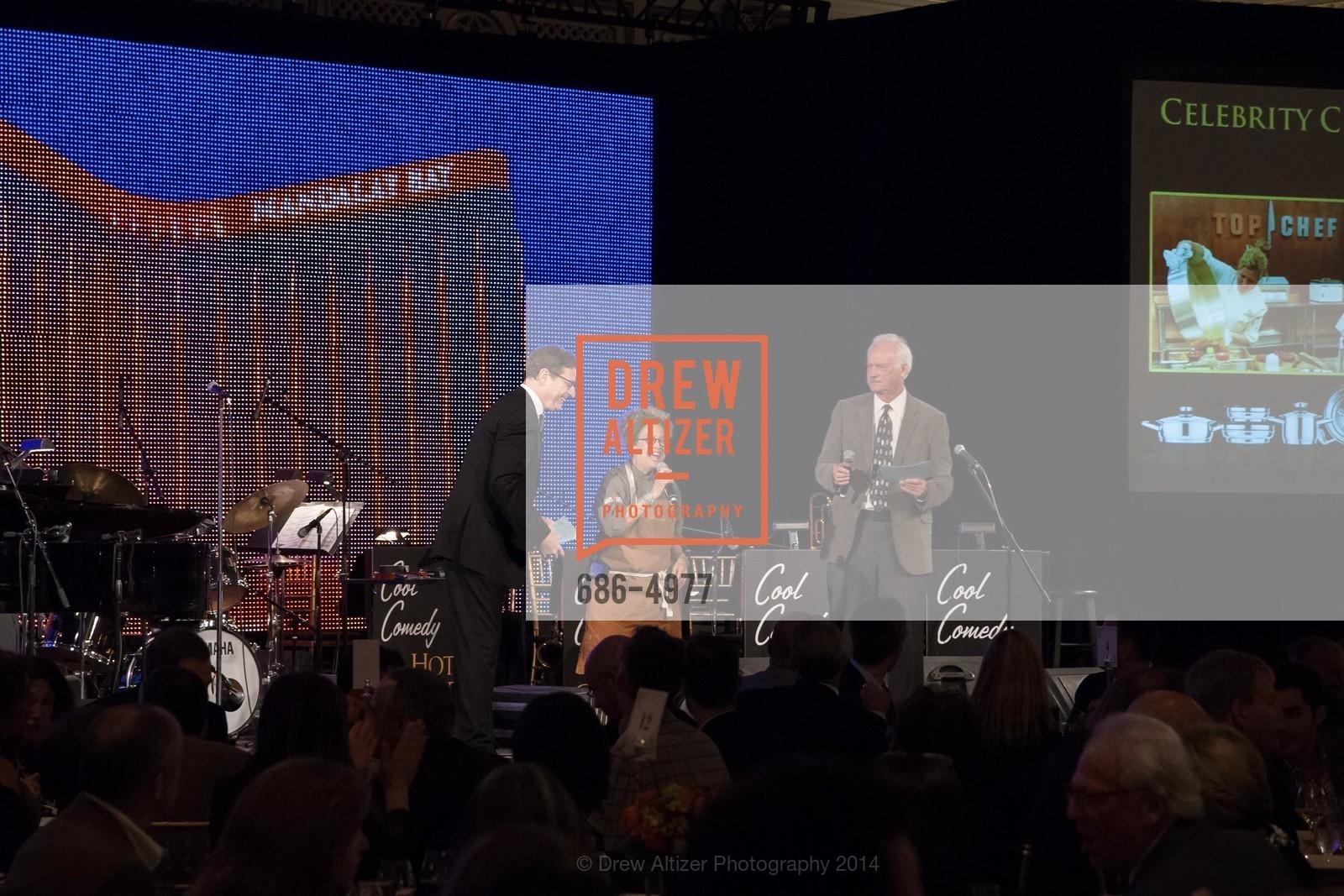 Bob Saget, Susan Feniger, John Blue, Photo #686-4977
