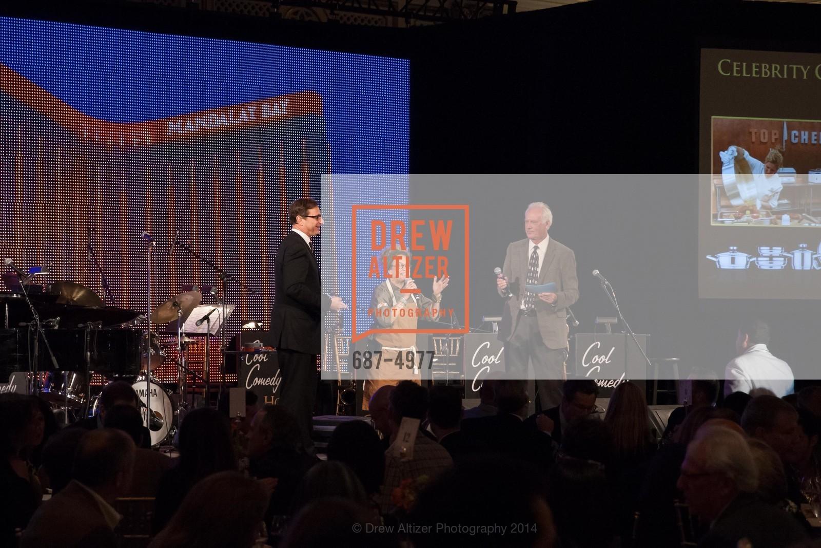 Bob Saget, Susan Feniger, John Blue, Photo #687-4977