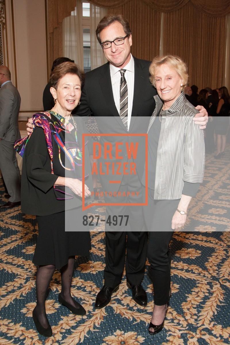 Roselyne Swig, Bob Saget, Nancy Bechtle, Photo #827-4977