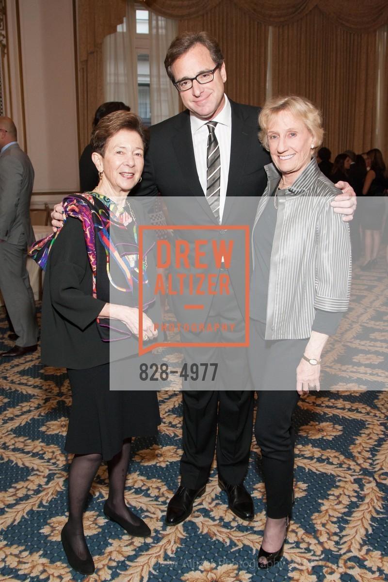 Roselyne Swig, Bob Saget, Nancy Bechtle, Photo #828-4977